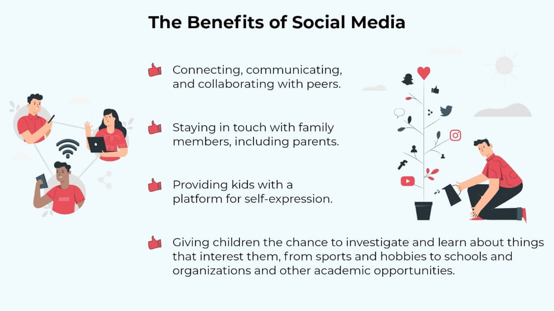 The Benefits of Socail Media