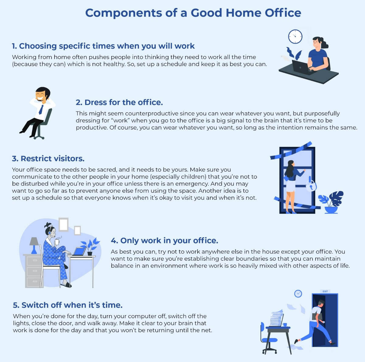 Components of a Good Home Office 2 1